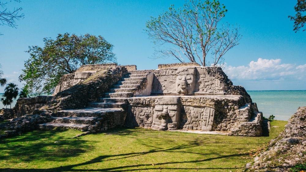 Belize - Cerros Ruins outside of Corozal