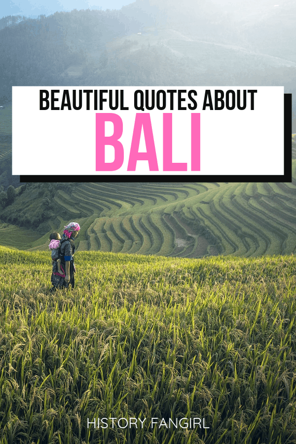 Bali Quotes & Bali Instagram Captions