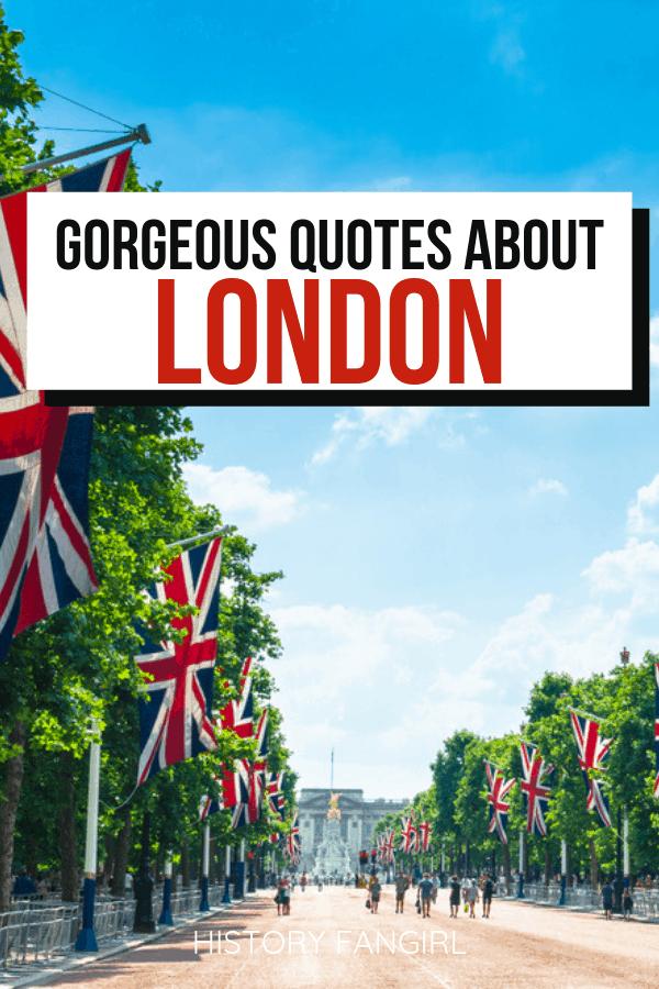London Quotes & London Instagram Captions
