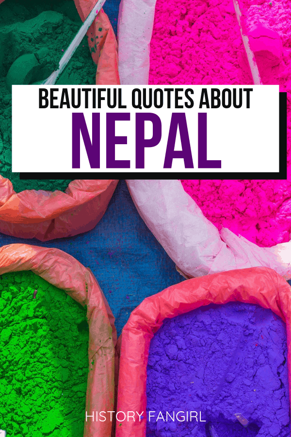 Quotes about Nepal and Nepal Instagram Captions