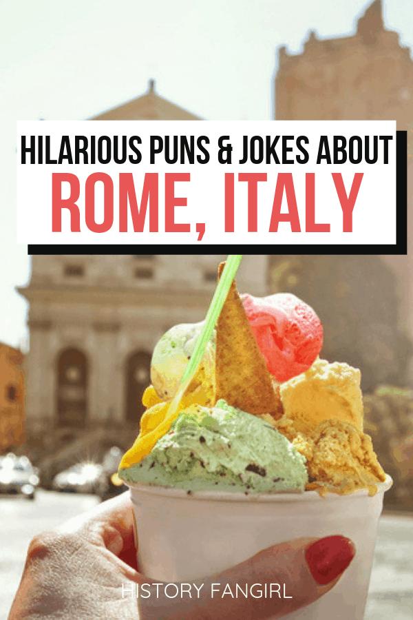 Rome Puns Rome Jokes Rome Instagram Captions
