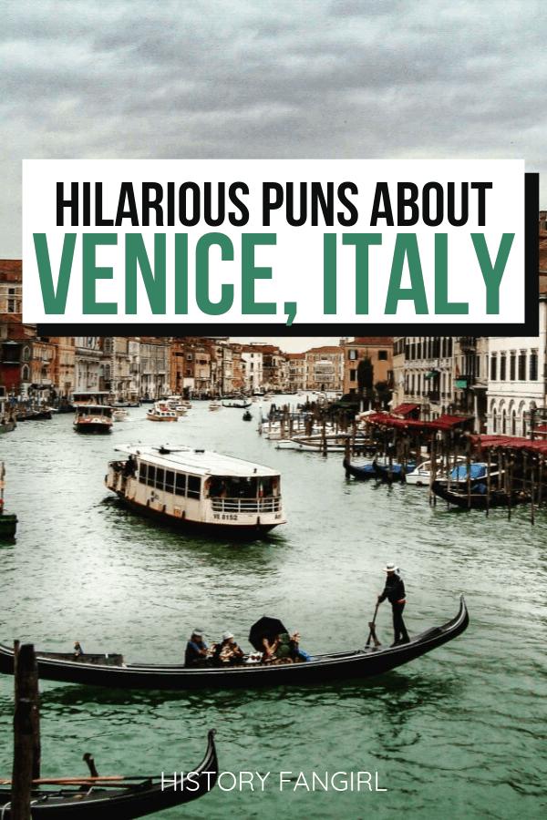 Venice Puns and Venice Jokes