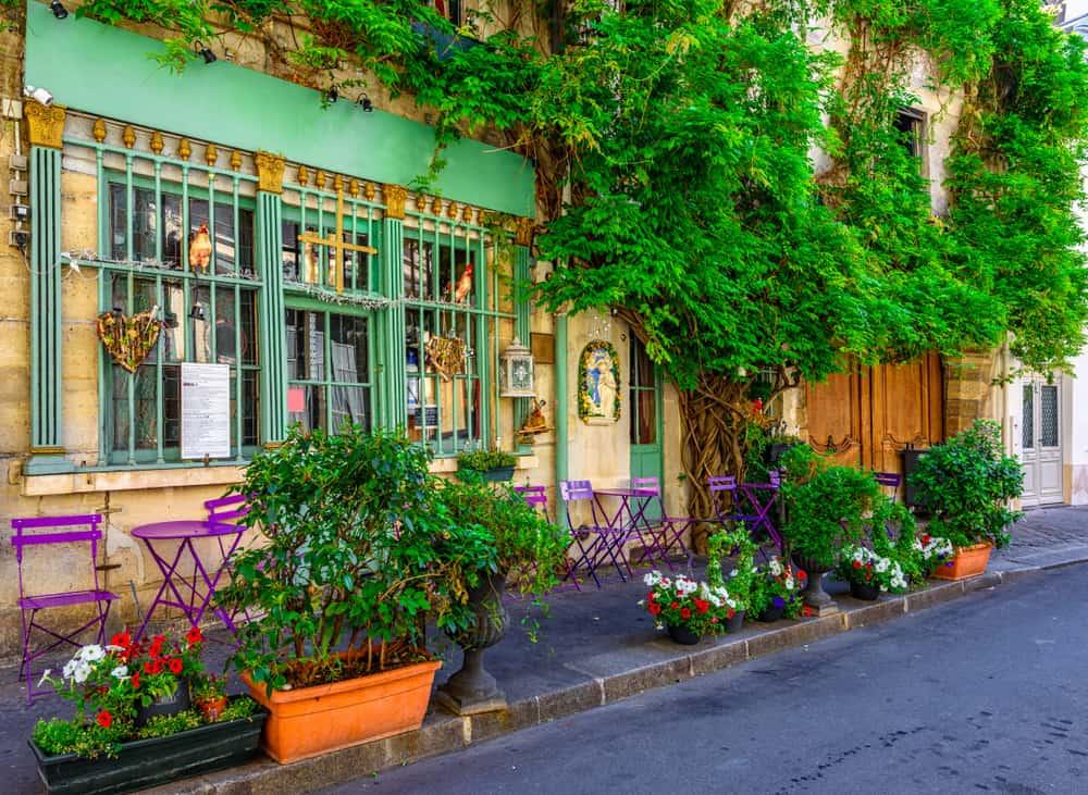 France - Paris - Cafe