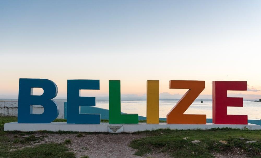 Belize - Belize City - Belize Sign