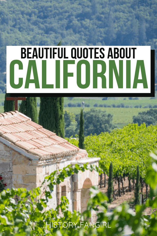 Quotes about California and California Instagram Captions