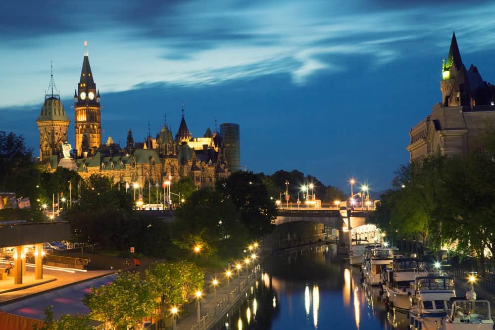 Canada - Ottawa - Rideau canal