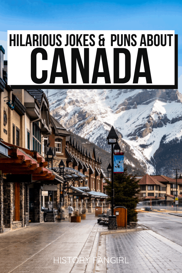 Canada Puns and Canada Jokes for Canada Instagram Captions