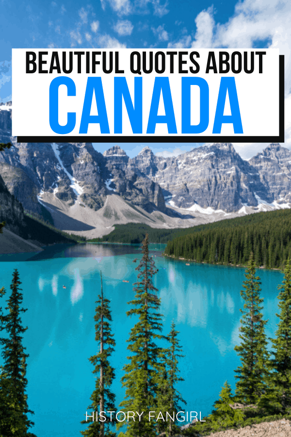 Quotes about Canada and Canada Instagram Captions