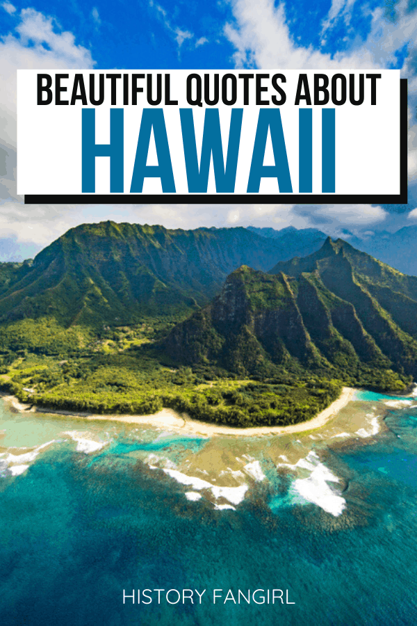 Quotes about Hawaii and Hawaii Instagram Captions