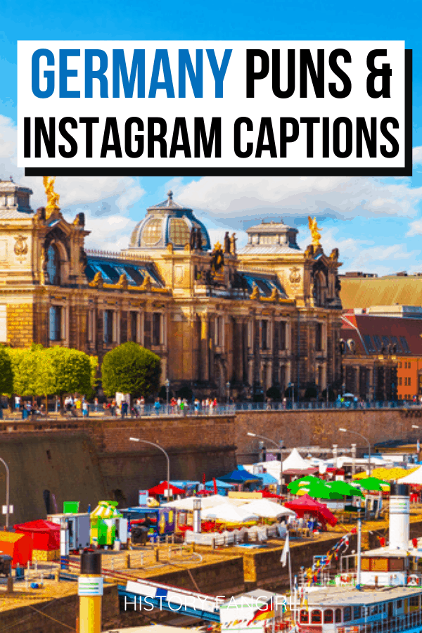 Germany Puns and Germany Jokes for Germany Instagram Captions