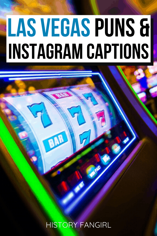 Las Vegas Puns and Las Vegas Jokes for Las Vegas Instagram Captions