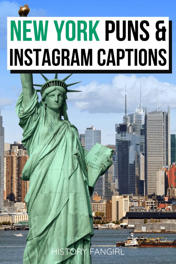 New York Puns and New York Jokes for New York Instagram Captions-4