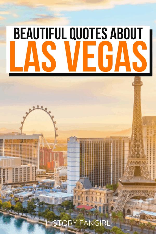 Quotes about Las Vegas and Las Vegas Instagram Captions