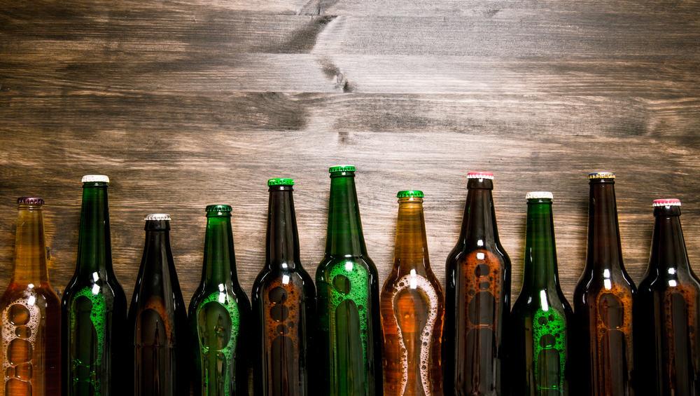 The Netherlands - Amsterdam - Amsterda Souvenir Beer Bottle
