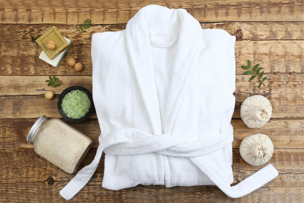 The Netherlands - Amsterdam - Spa Robe and Products