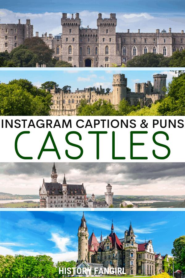 Castle Puns for Castle Instagram Captions