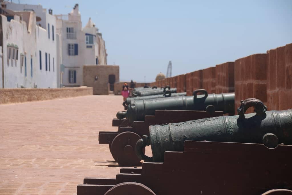 Essaouira Skala canons