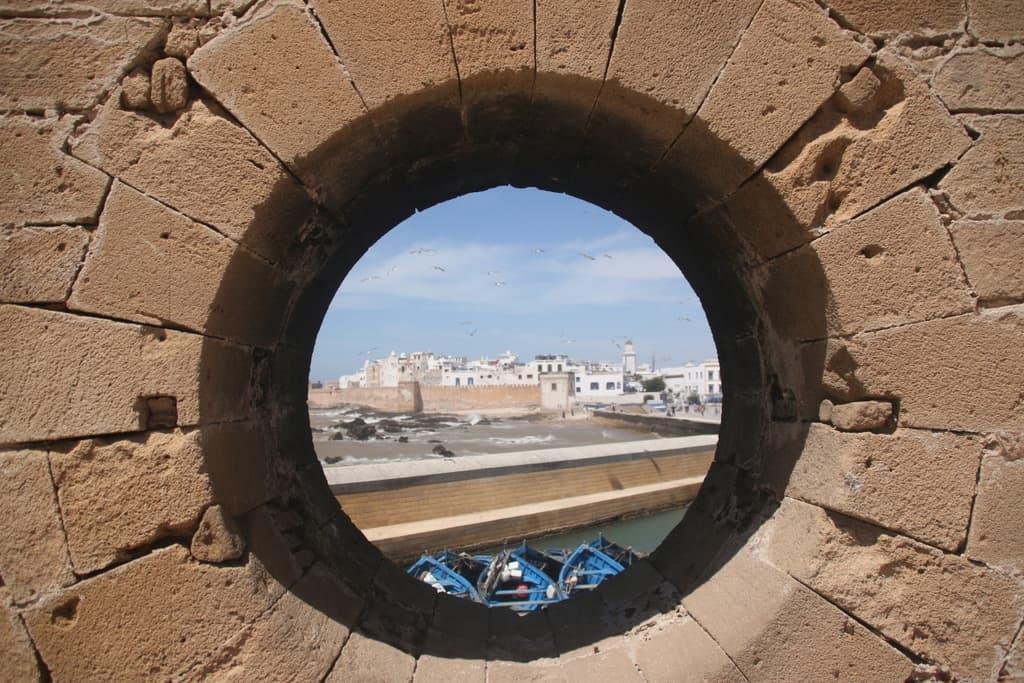 Essaouira hole in the wall