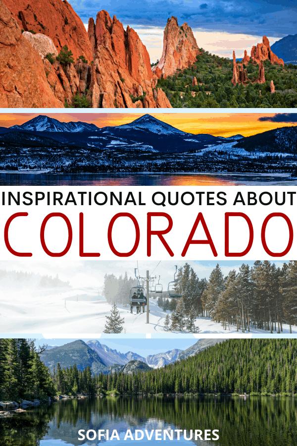 Quotes about Colorado
