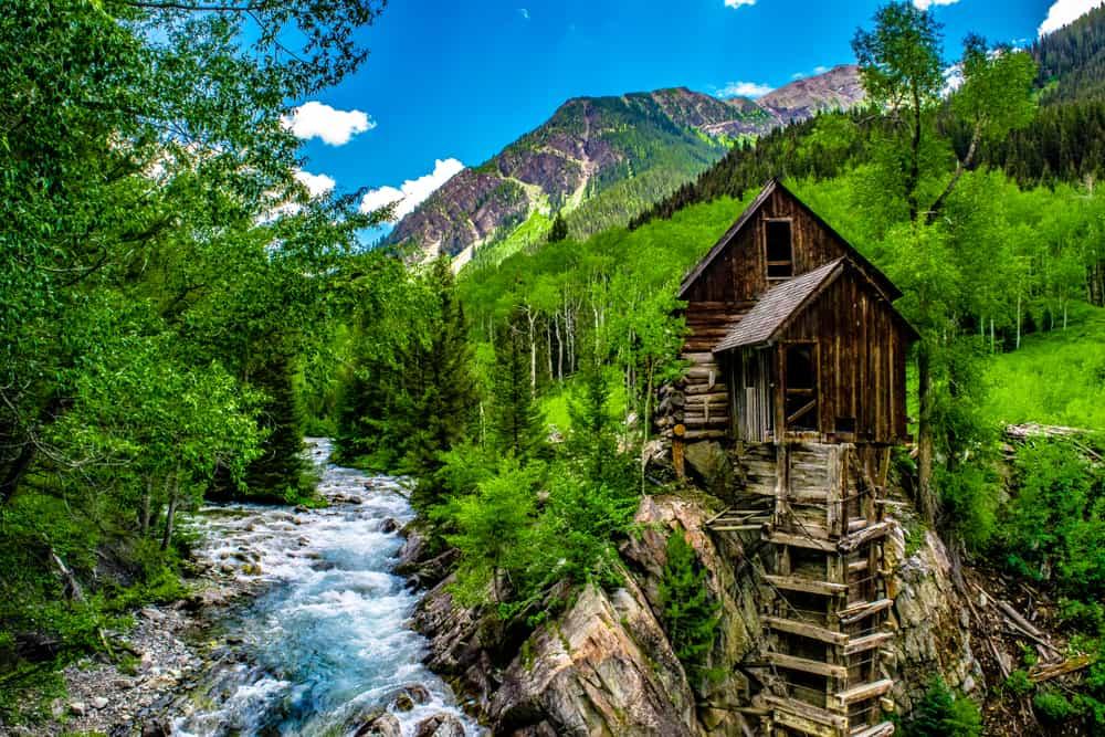 USA - Colorado - Crystal Mill in Colorado