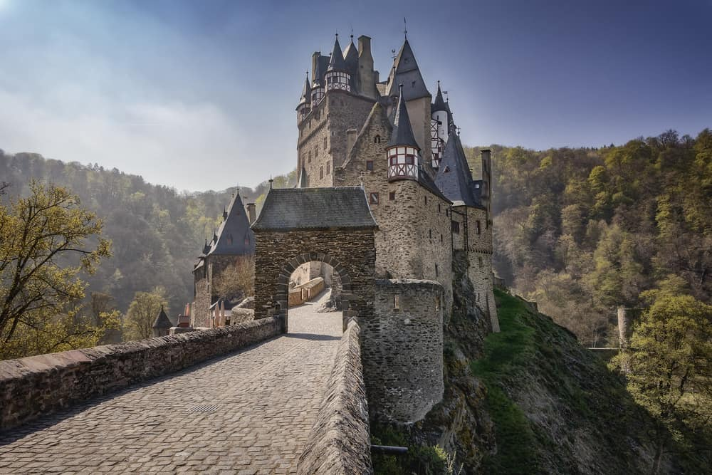 Germany - Castle Eltz - one of the most famous and beautiful castles in Germany.