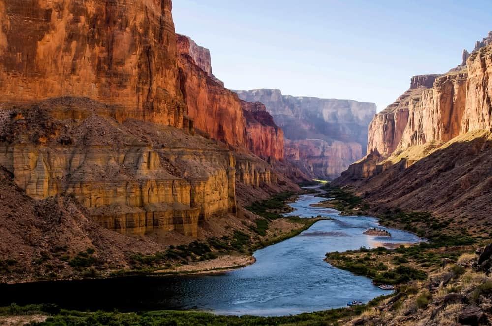 USA - Colorado - Colorado River from Nankoweap Granaries in Grand Canyon