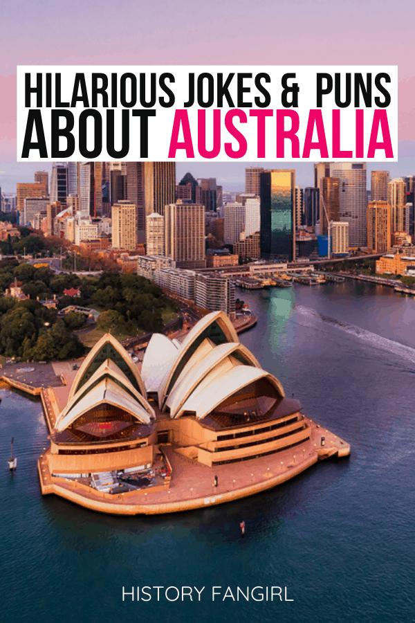 Australia Puns and Australia Jokes for Australia Instagram Captions