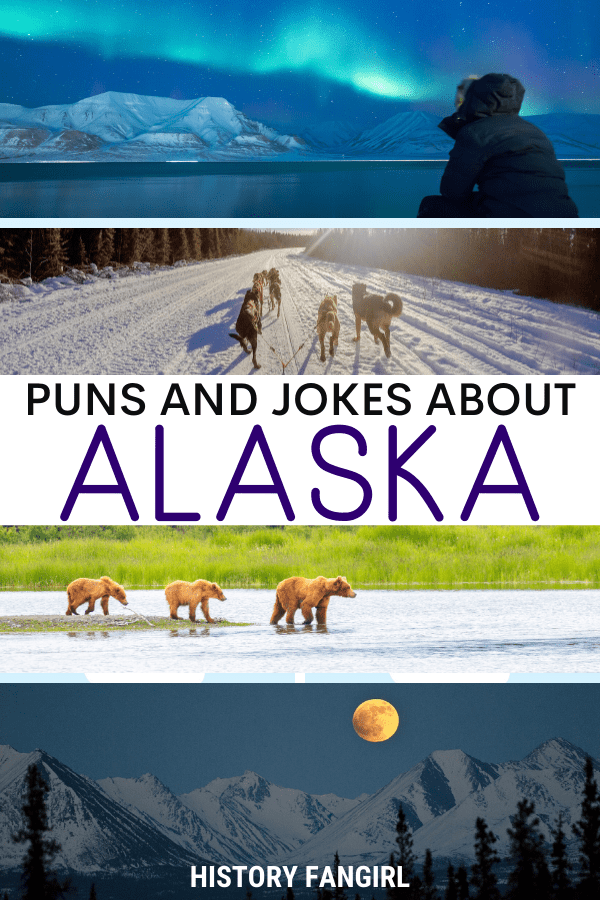 Jokes about Alaska Puns for Alaska Instagram Captions