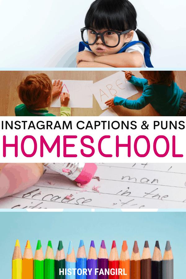 Jokes about Homeschool Puns for Homeschool Instagram Captions and Homeschooling WhatsApp Status
