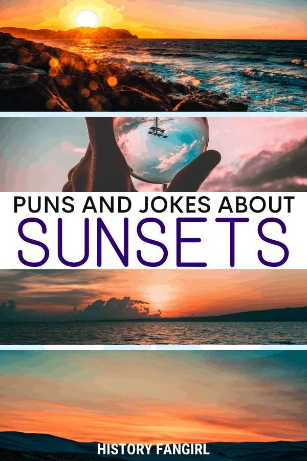 Jokes about Sunset Puns for Sunset Instagram Captions and WhatsApp Status