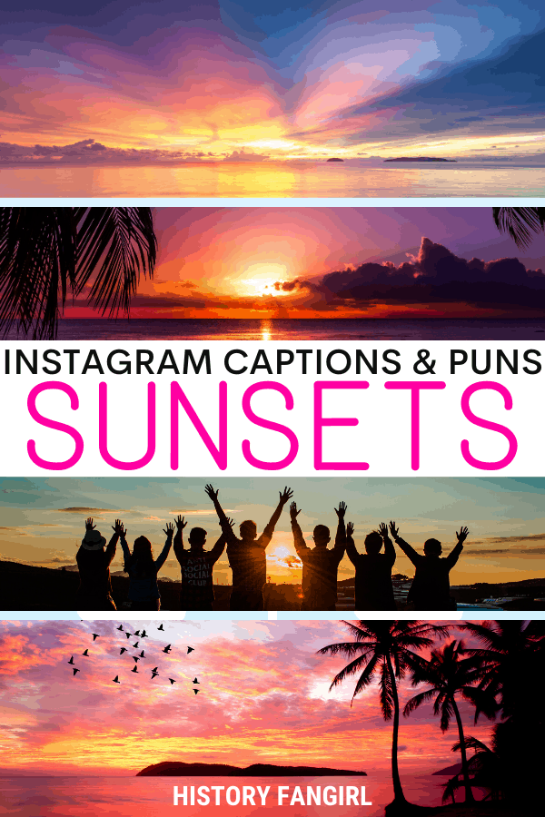 Jokes about Sunset Puns for Sunset Instagram Captions