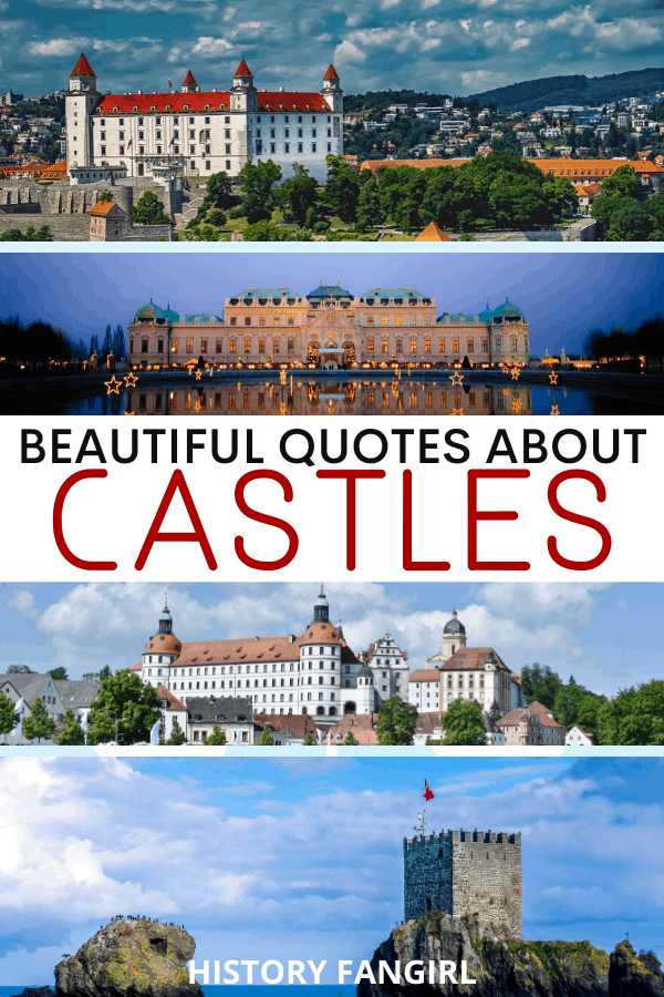 Quotes about Castles for Castle Instagram Captions