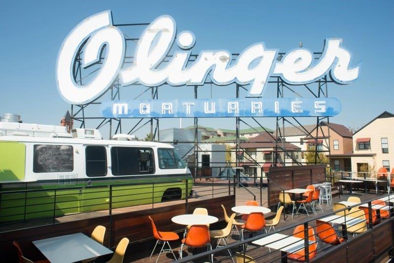 Things to Do in Historic Denver - Linger Sign