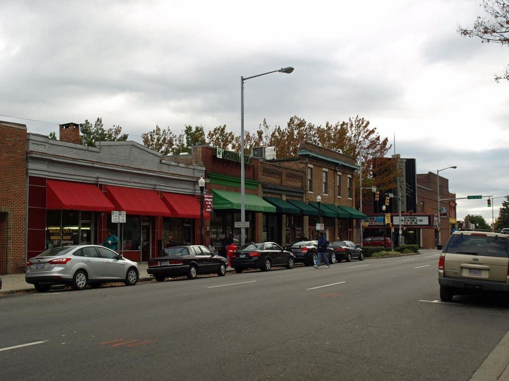 Fourth Avenue Historic District in Birmingham Alabama