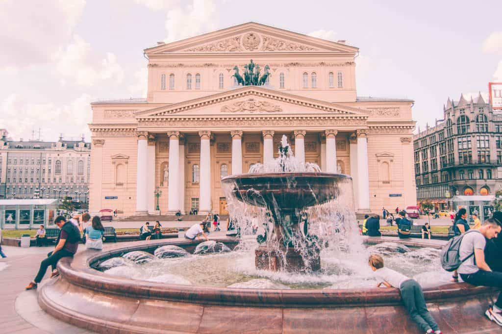 Russia - Moscow - Bolshoi Theatre - Opera Collab