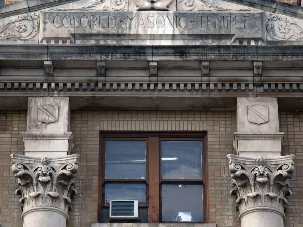 USA - Alabama - Birmingham - Black Masonic Temple