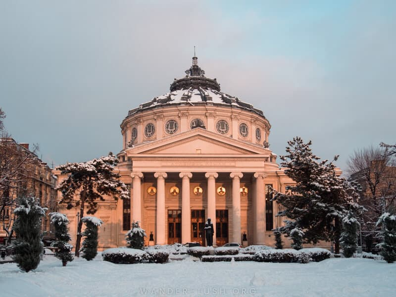 Romania - Bucharest - Romanian Athenaeum