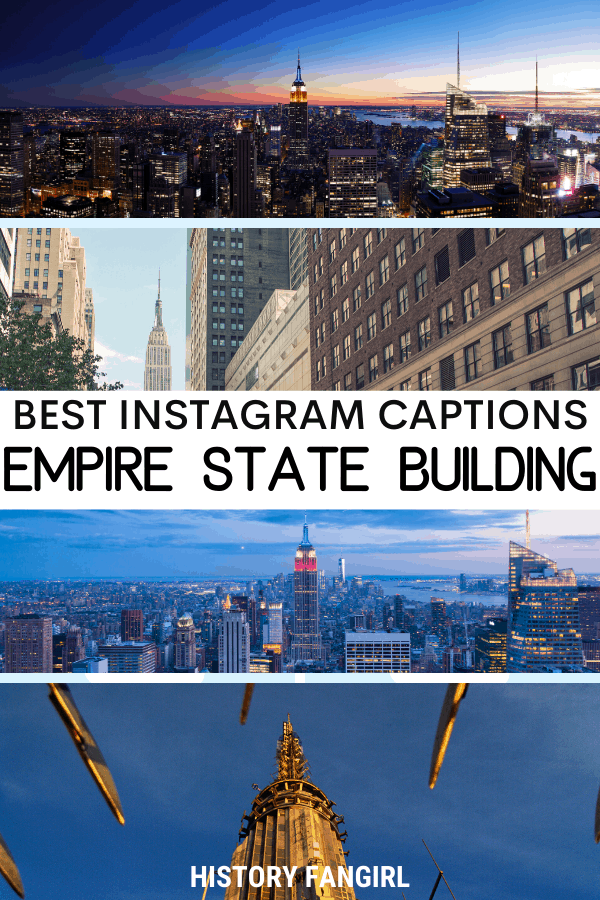 Empire State Building Quotes for Empire State Building Instagram Captions