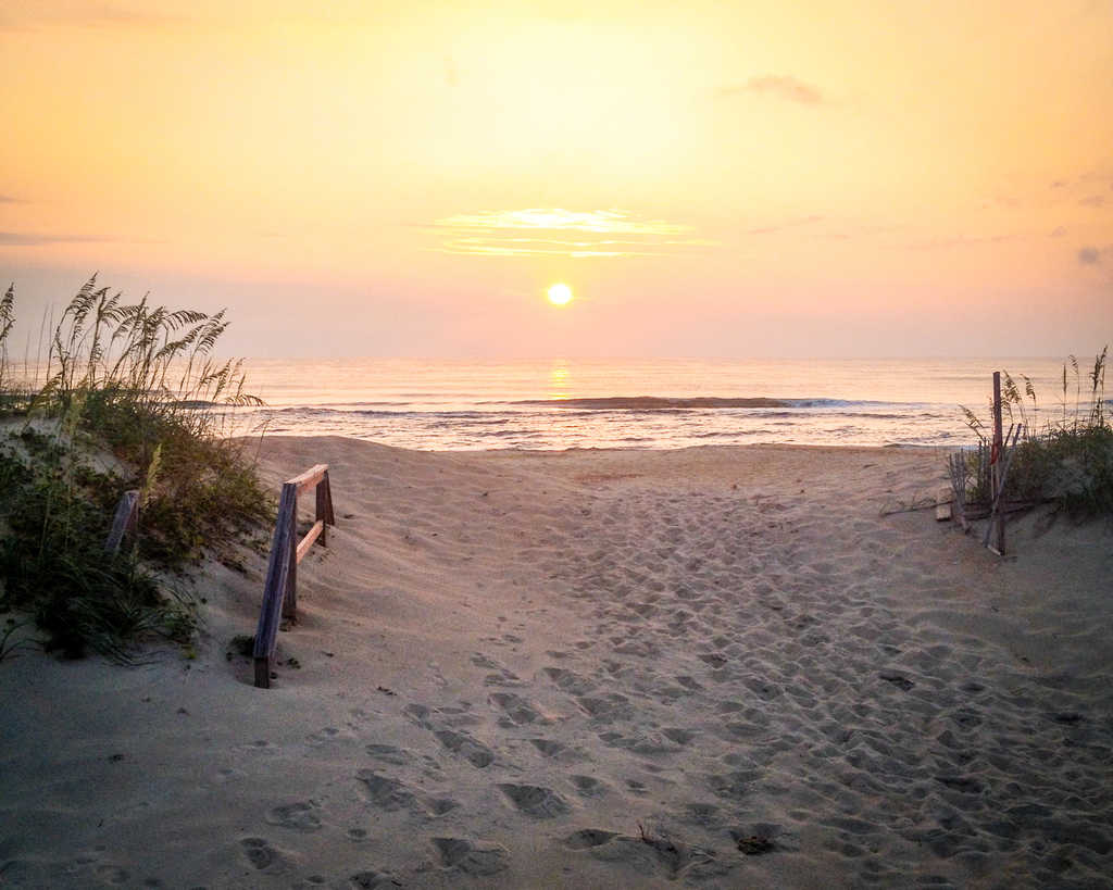 USA - North Carolina - Outer Banks Sunrise