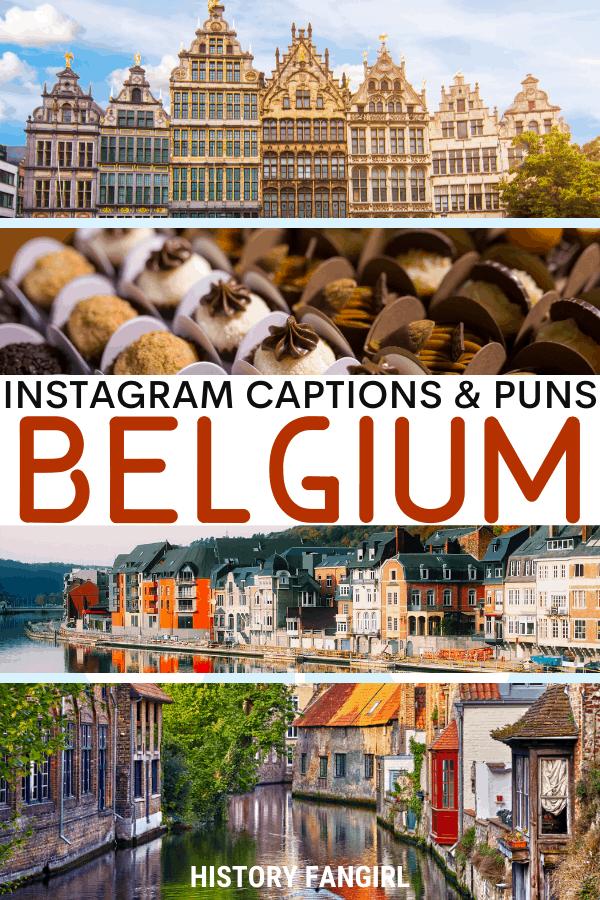 Jokes about Belgium Puns for Belgium Instagram Captions and Belgium WhatsApp Status