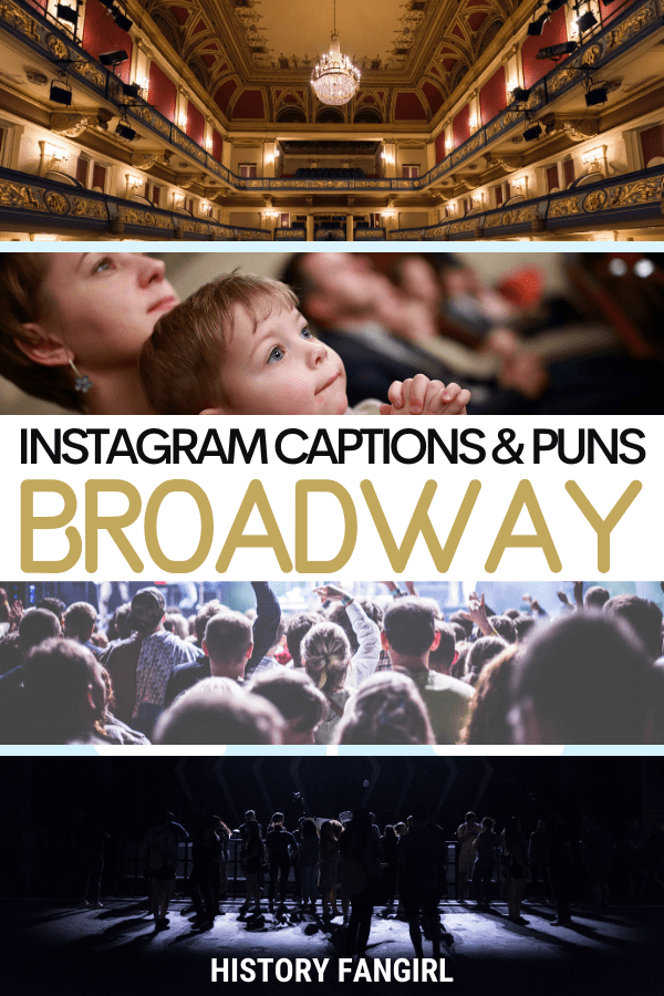 Jokes about Broadway Puns for Broadway Instagram Captions and Broadway WhatsApp Status