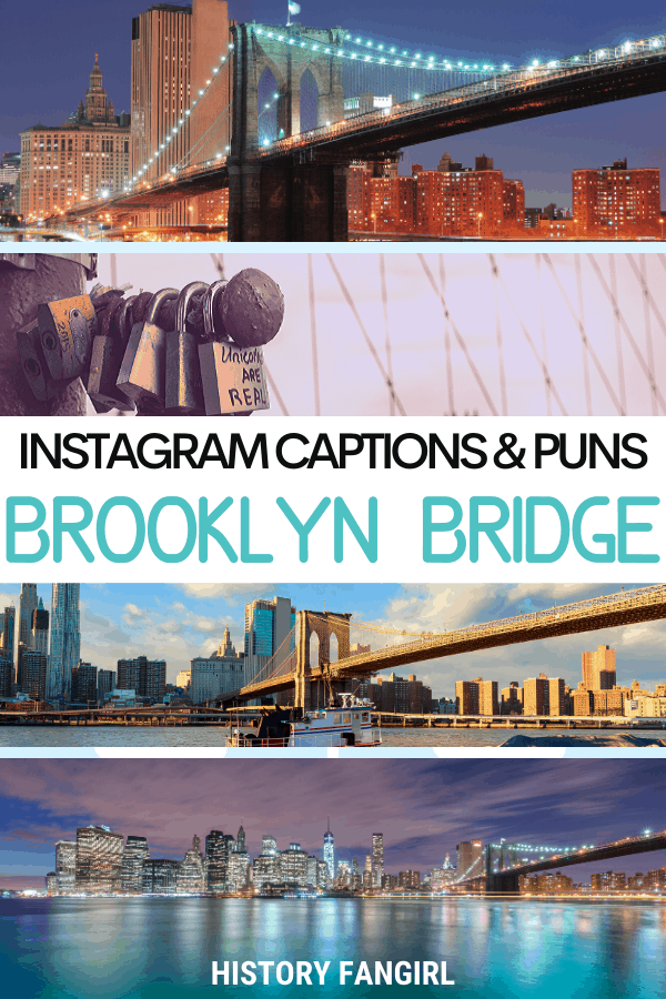 Jokes about Brooklyn Bridge Puns for Brooklyn Bridge Instagram Captions and Brooklyn Bridge WhatsApp Status
