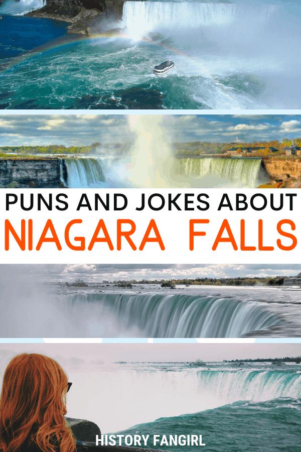 Jokes about Niagara Falls Puns for Niagara Falls Instagram Captions and Niagara Falls WhatsApp Status