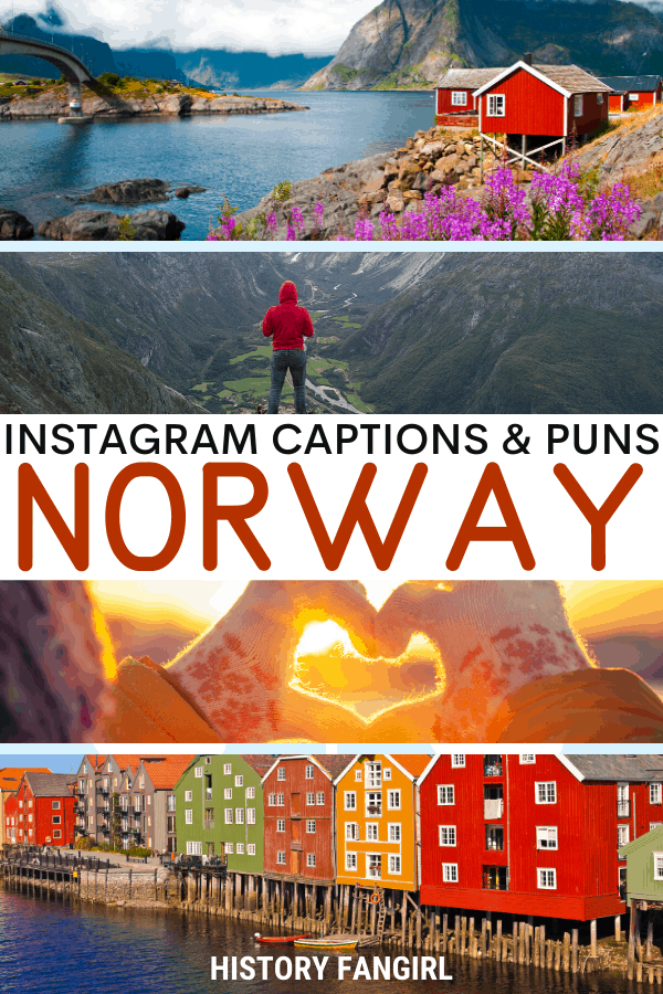 Jokes about Norway Puns for Norway Instagram Captions and Norway WhatsApp Status