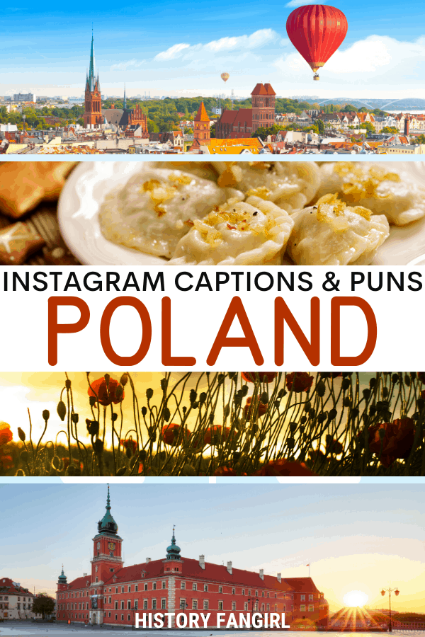Jokes about Poland Puns for Poland Instagram Captions and Poland WhatsApp Status