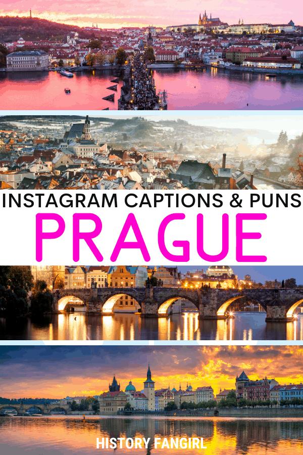 Jokes about Prague Puns for Prague Instagram Captions and Prague WhatsApp Status
