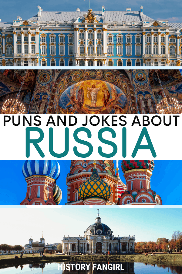 Jokes about Russia Puns for Russia Instagram Captions and Russia WhatsApp Status