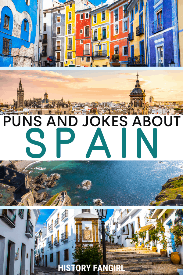 Jokes about Spain Puns for Spain Instagram Captions and Spain WhatsApp Status