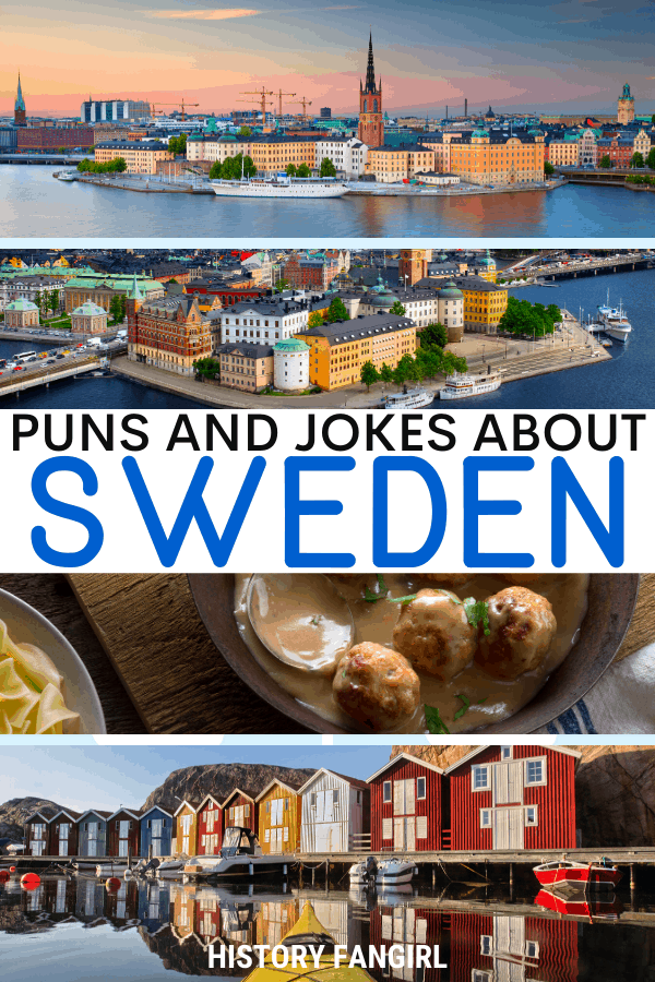 Jokes about Sweden Puns for Sweden Instagram Captions and Sweden WhatsApp Status