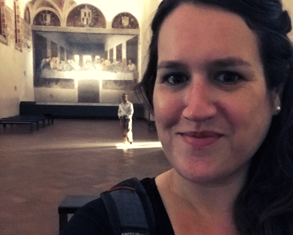Italy - Milan - The Last Supper - Stephanie Selfie